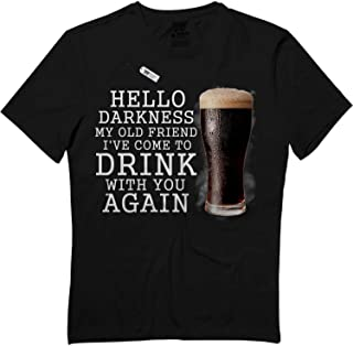 Hello Darkness I've Come to Drink with You Again POZ T-Shirt
