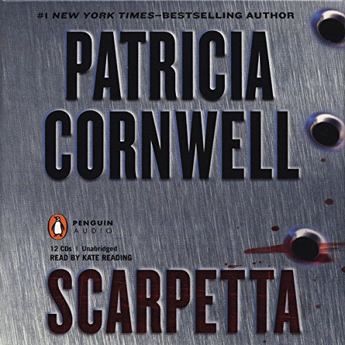 Scarpetta audiobook cover art