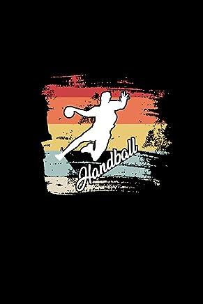 Handball: A5 Handball Kalender | Vintage Retro Handball Wochenplaner | Handballspieler & Handballspielerinnen Geschenk
