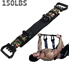 Sunsign Adjustable Bench Press Assistance Resistance Bands Removable Chest Expander with Resistance Bands