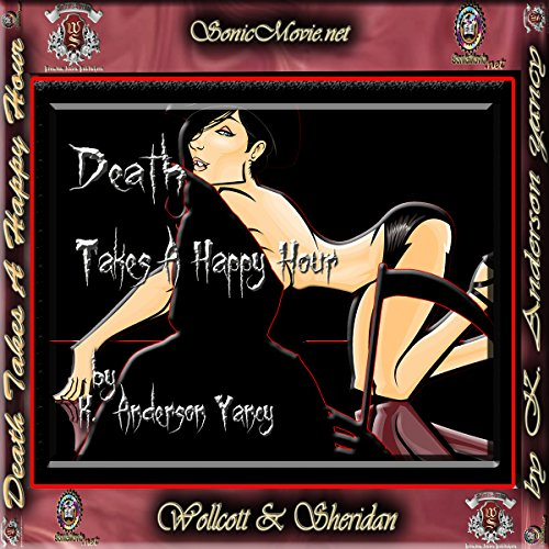 Death Takes a Happy Hour audiobook cover art