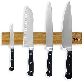 joeji's Kitchen Barre aimantée Porte Couteaux | Barre Aimant Couteau de 40 cm idéale pour Couteaux de Cuisine et ustensile...