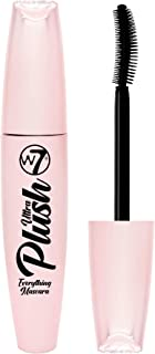W7   Ultra Plush Mascara   Long-Lasting, Smudge-Proof and Water-Resistant Formula   Black Mascara With Curved Shaped Brush...