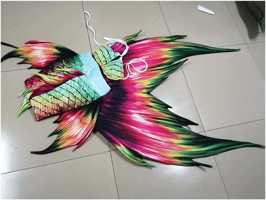 HJKKLL Swimsuits for Girls,Mermaid Tails for Swimming Bikini Swi