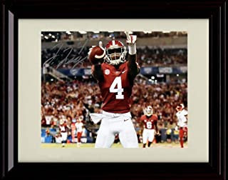 Autographed Tony Nathan 8x10 Alabama Crimson Tide Photo