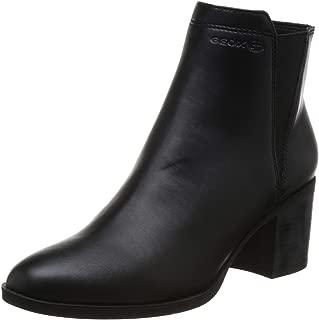Geox Women's Asheel 1 Zip Ankle Boot, 2.5