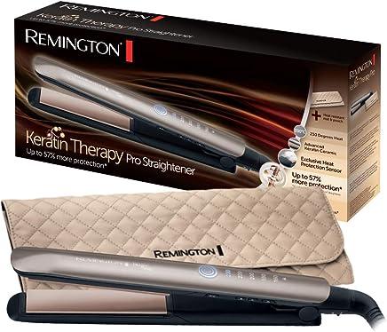 Remington S8590 Keratin Therapy Pro Piastra per Capelli, Rivestimento Ceramica e Cheratina