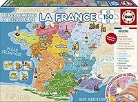 Ce puzzle est composé de 150 pièces parfaitement finies pour un assemblage simple et sûr. Assemble ce puzzle pour découvrir les départements et les nouvelles régions de France. À partir de 6 ans. Dimensions du puzzles assemblé: 40 x 28 cm.