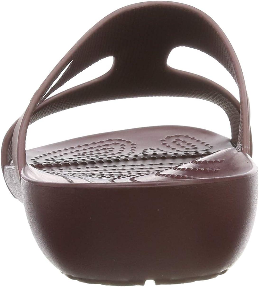 Mules Crocs Slide Bourgogne Femmes