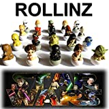 2016 Star Wars Rollinz Esselunga - Colección completa de 20 personajes de Star Wars