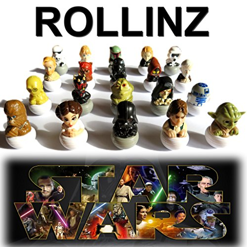 2016 Star Wars Rollinz Esselunga COLLEZIONE COMPLETA 20 personaggi