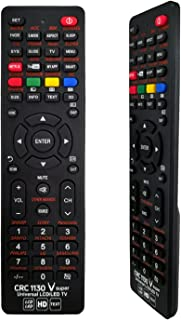 T Tersely Universal LCD/LED/3D Replacement TV Remote, for LCD/LED TV HDTV Remote Controller Samsung/Panasonic/TCL/SANYO, P...