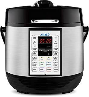 IAIQ 13-in-1 Electric Programmable 6 Quart One-Touch Pressure Cooker, Including Slow..