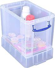 Really Useful Plastikowe pudełko do przechowywania, przezroczyste, 19 XL litrów