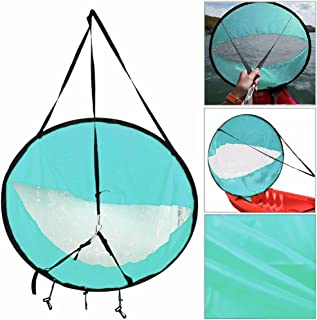 YWILLINK Kayak Boat Wind Sail Canoe Sup Paddle Board Sail with Clear Window Fishing Rowing Boat Inflatable Outboard Drifting