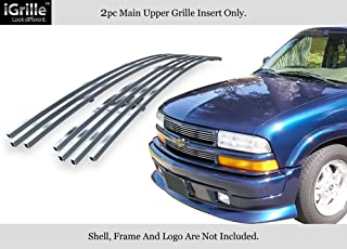 APS Compatible with 98-04 Chevy S-10 98-05 Blazer Stainless Steel Billet Grille Insert C65705C
