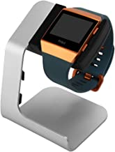 Fitbit Ionic Compatible Charging Stand- Tranesca Charging Stand/Charging Dock/Charging Cradle for Fitbit Ionic with 6ft Charging Cable Integrated