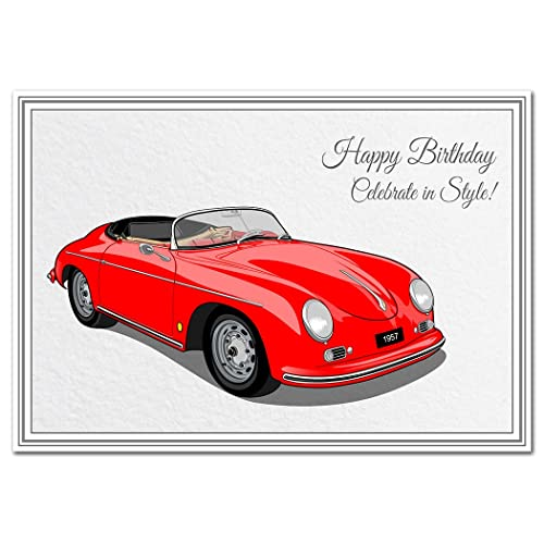 Classic Cars Greetings Cards Amazoncouk