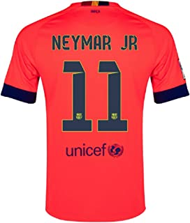 Nike Barcelona Away Jersey 2014-15 Neymar #11 Size Adult Large