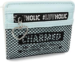 [カノンコード] メッシュ ハート 二つ折り財布 財布 子供用 MSWLF104
