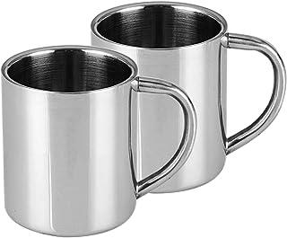 Tasse Inox Extérieur tasse INOX tasse camping tasse 0,5 L NEUF