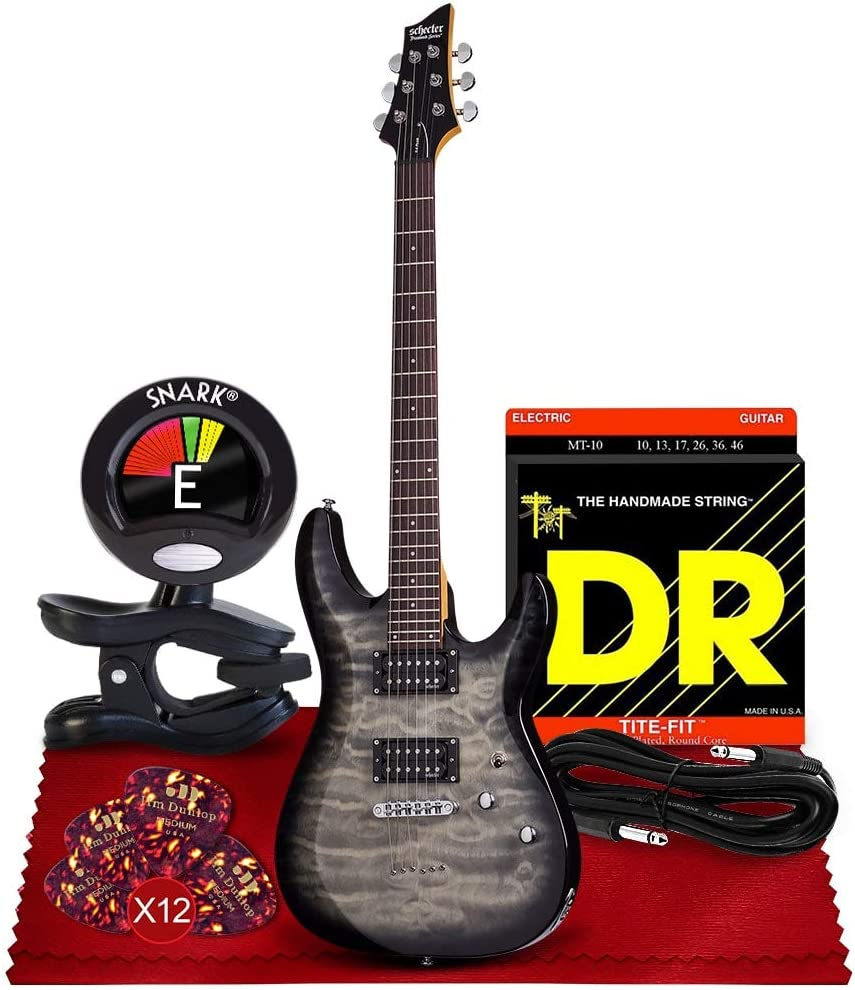 Cheap SALE Start Schecter C-6 Plus We OFFer at cheap prices Solid-Body Electric Guitar Charcoal wit Burst