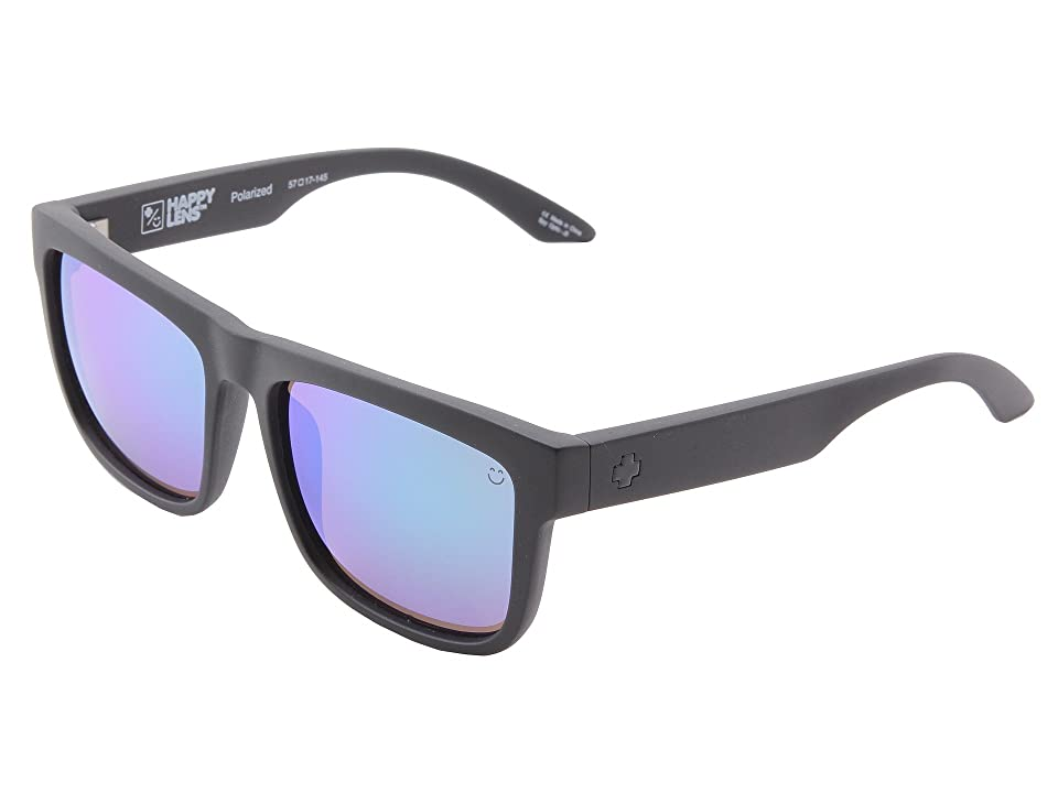 Spy Optic Discord (Happy Lens) (Matte Black-Happy Bronze Polar W/Green Spectra) Sport Sunglasses
