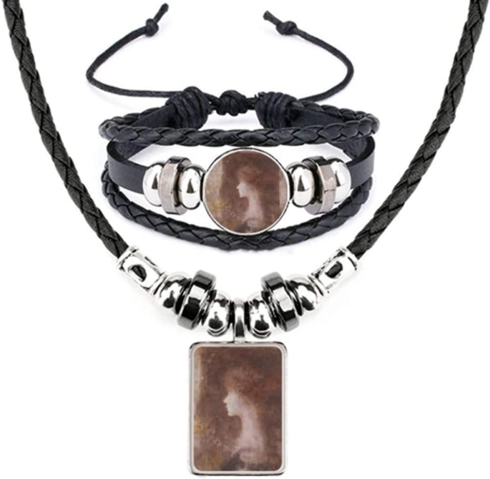 Nocturnes No.3 XJJ Oil Painting Bracelet Jewelr Necklace Leather Oklahoma Be super welcome City Mall