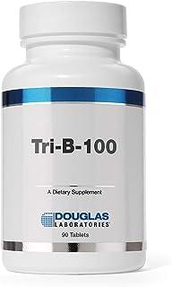 Douglas Laboratories - Tri-B-100 - Timed Release B Vitamins Supplement - 90 Tablets