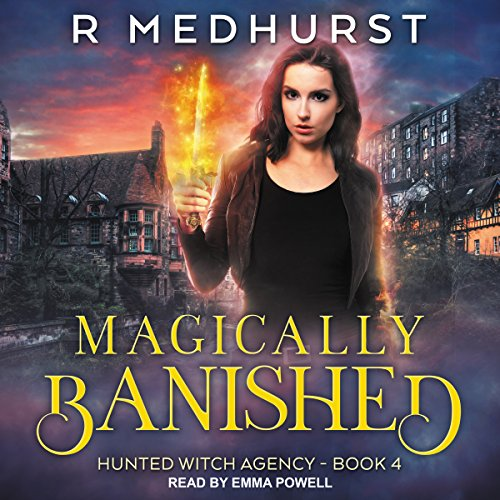 Magically Banished audiobook cover art
