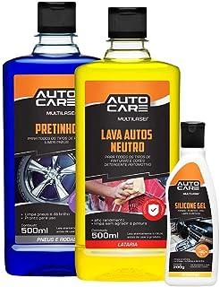 Multilaser Pneu Pretinho Gel Autocare 500G Brilho Fosco - Au458
