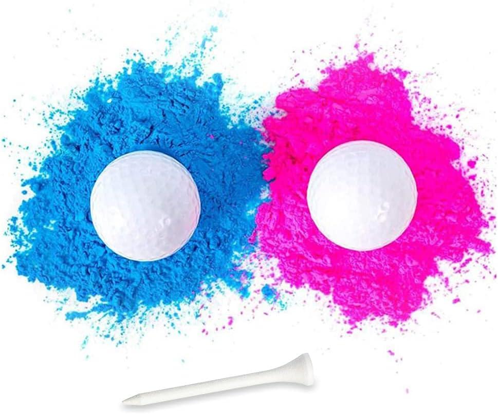 Gender safety Reveal Golf Balls – Overseas parallel import regular item Part Set 2Pcs Baby