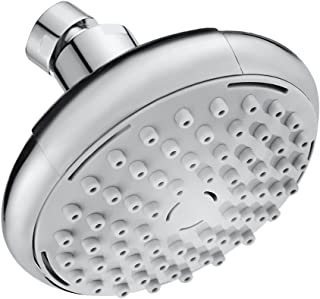 Shower Head,KZKJ High Pressure Air-Injection Rainfall Adjustable Showerheads Anti-Clog Rain Showerhead Chrome