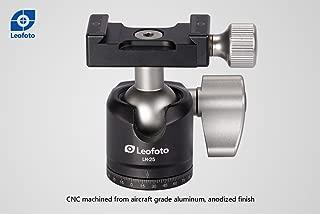 LEOFOTO LH-25 25mm Low Profile Ball Head Arca / RRS Compatible