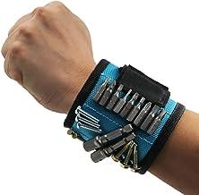 Diadia - Pulsera magnética para sujetar tornillos, herramientas, el mejor regalo único del día del padre para hombres, artesanos, padres, padres, marido, él, mujer