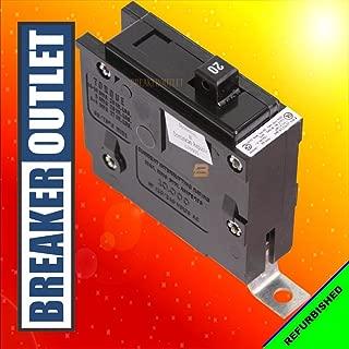 Refurbished Cutler-Hammer Eaton BAB1020 Circuit Breaker 1 Pole 20A 120/240V