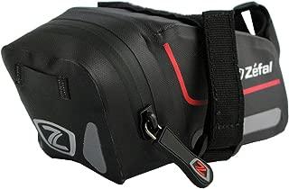 Zefal Bolsa para Asiento Z Dry Resistente Al Agua Soporte Velcro, Color Negro, Chico, 0.6 l