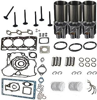 New Overhaul Rebuild Kit for Komatsu Engine WA40-3 WA50-3 Loader PC25-1