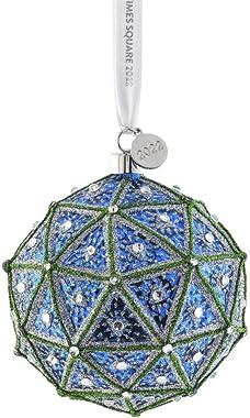 Waterford Times Square Wisdom Replica Ball Ornament