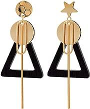 WTPUNGB Triangle Geometric Asymmetric Earrings Women Simple Temperament Popular Earring Fashion Jewelry Accessories