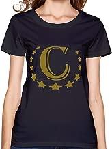 SNOWANG Women's C Gold T-Shirt