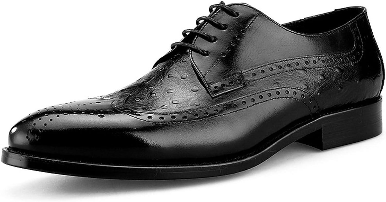 Brittiska Stil Manliga läderskor Business Springaa Mans skor