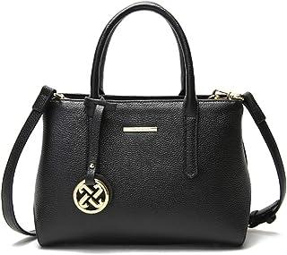 ASPLOU ハンドバッグ レディース 本革素材 大容量 2way カジュアル ビジネス バッグ 上品 人気 ブランド 誕生日 母の日 プレゼント バッグレディース