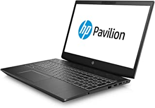 HP Pavilion Gaming 15-cx0018ne, Gaming Laptop, Intel Core i5-8300HQ, 15.6 Inch, 1TB HDD + 128GB SSD, 16GB RAM, NVIDIA GeForce GTX 1050 (4 GB GDDR5), Win 10, Eng-Ara KB, Shadow Black