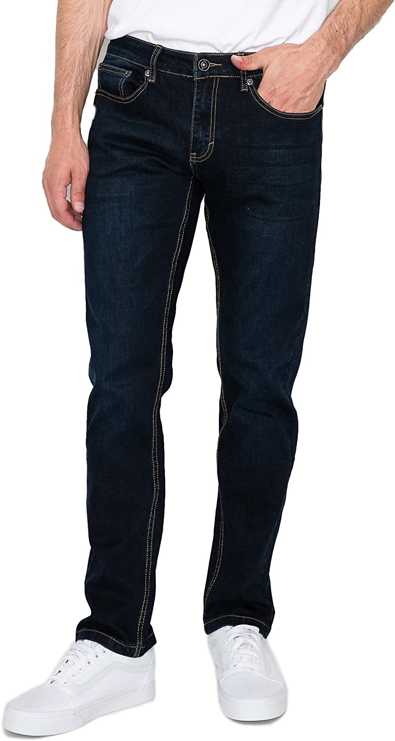 RING OF FIRE Men's 5 New Max 80% OFF products world's highest quality popular Stretch Pockets Slim Jeans Denim