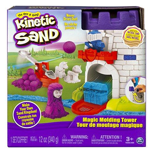 Kinetic Sand 6035825 - Torre mágica de moldeado , color/modelo surtido