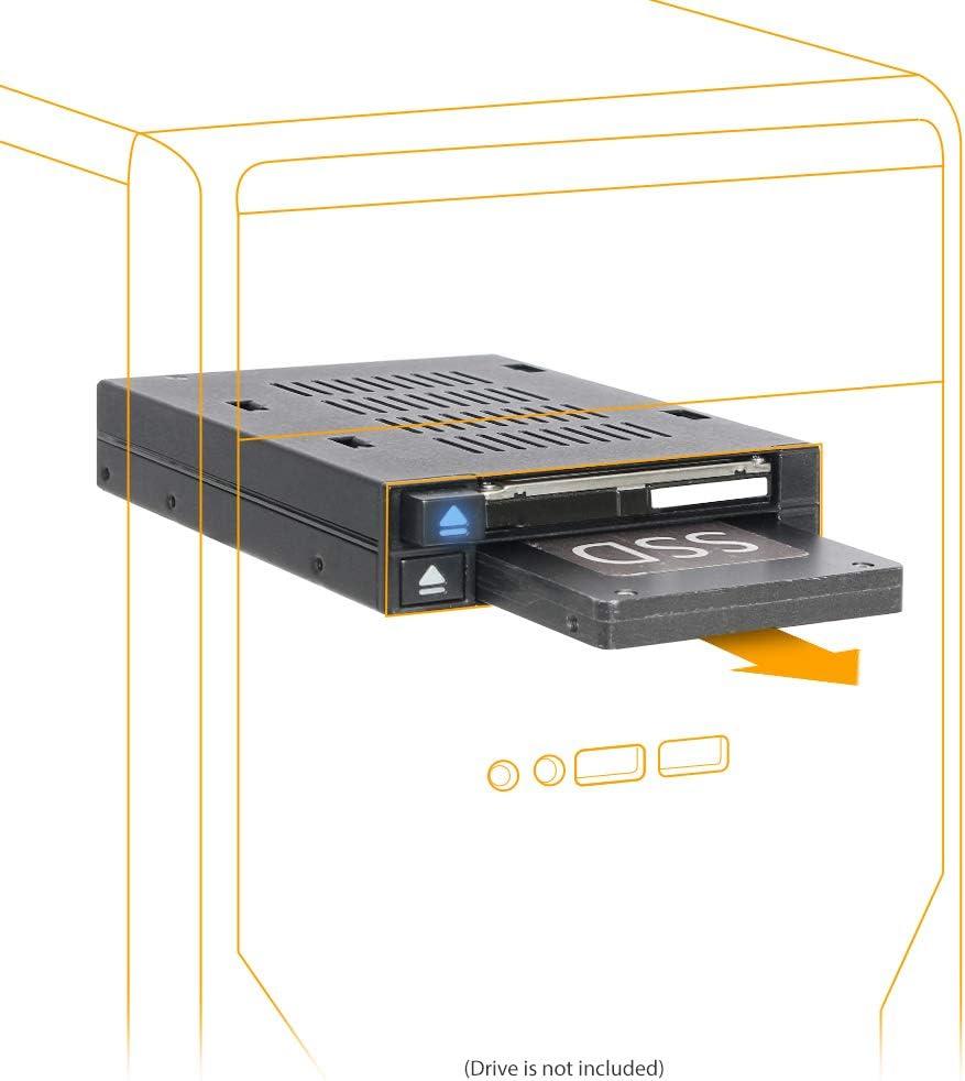 "ICY DOCK Dual 2.5"" SSD  Hot-Swap SATA/SAS para Bahía Ext 3.5"