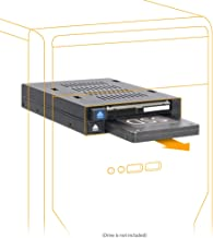 ICY DOCK Dual Bay 2.5 to 3.5 SATA/SAS SSD/HDD Trayless Hot-swap Dock/Mobile Rack for 3.5 Drive Bay - flexiDOCK MB522SP-B