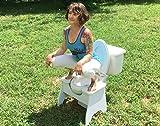 Poop Stoop High Full-Squat Toilet Squatting Stool