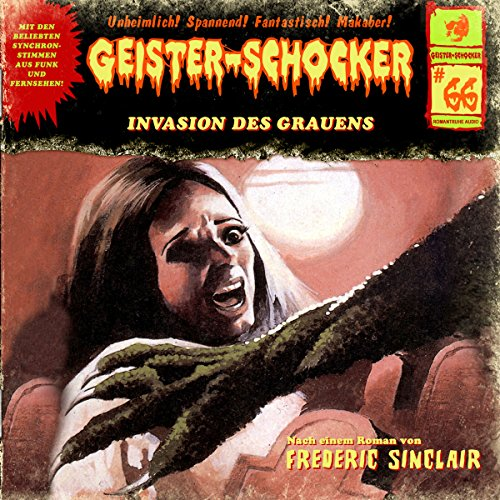 Invasion des Grauens audiobook cover art
